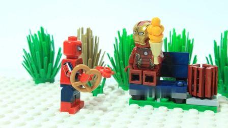 乐高定格动画: 乐高铁人很无奈, 机会就这么拱手让人?