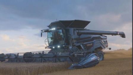 德国发明最强小麦收割机, 效率高马力强, 引进农