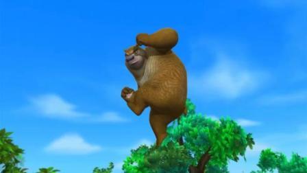 熊二太逗了, 天空飘来一只风筝, 却非要说是一只大蝴蝶