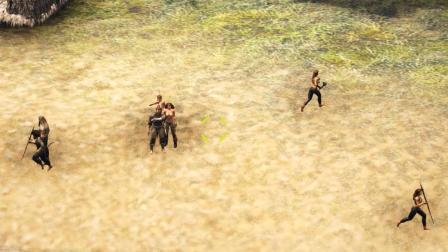 阿忆【方舟生存进化: Pugnacia】11发现部落了