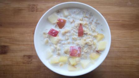 牛奶燕麦粥正确做法, 营养健康, 减肥的朋友要吃呦