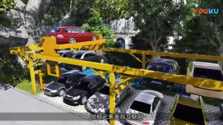 """中国首创""""空中车库"""", 由学生发明, 将根治旧小区停车难-_超清"""