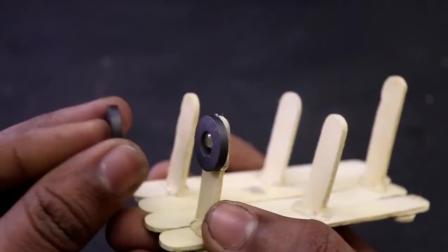牛人用磁铁制作了这个 你们知道是什么吗