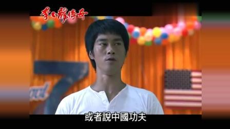李小龙传奇: 宣传中国武术的片段, 看了令人激情