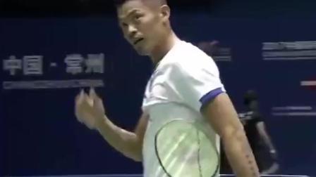 羽毛球比赛林丹完胜, 太厉害了, 真是中国的骄傲