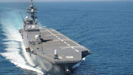 出云级直升机驱逐舰改造开始, 将正式升级为航母, 为F35B上舰做准备