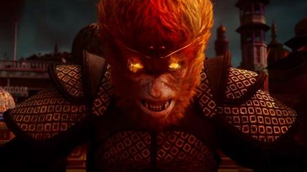 孙悟空大战红孩儿,猴哥被逼得变身齐天大圣,配上这bgm燃爆了
