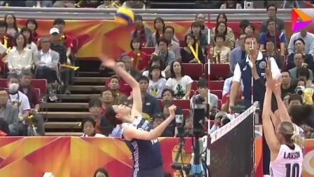 中国女排3-2逆转美国女排, 朱婷25分发挥惊艳