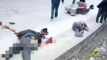 重庆南川 夫妻骑摩托车与农用车相撞 丈夫身亡女子受伤