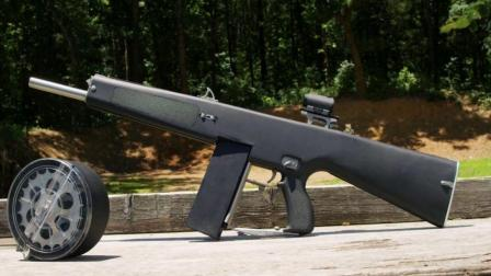 现役最强大的五款霰弹枪, 第一名射速惊人, 能直接泡水射击