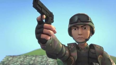 聪明的顺溜: 想接近服务器先过我女兵一关, 赵娴与顺溜一对一单打谁会赢!