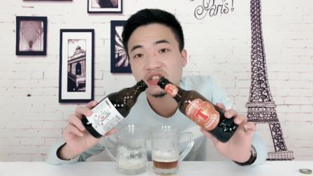 这两款啤酒一起喝那感觉...知道板蓝根什么味道吗?