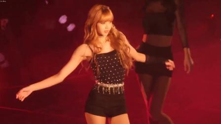 BLACKPINK Lisa在推特上引发热潮的翻跳舞蹈 芭比身材跳舞
