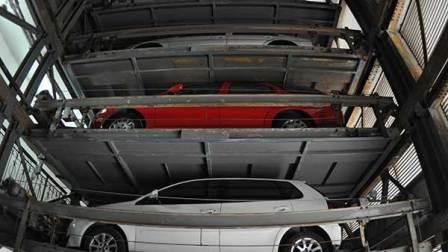 视频教你立体车库怎么取车