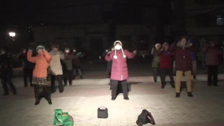 哈热健身队舞蹈