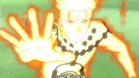 火影忍者: 鸣人说自己的风遁比手鞠用的好, 果然螺旋丸很强力!