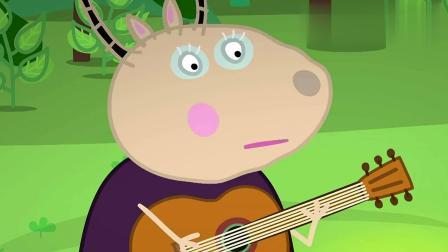 小猪佩奇: 到了晚上睡觉时间, 夜晚出现了怪声, 佩奇吓得坐起来