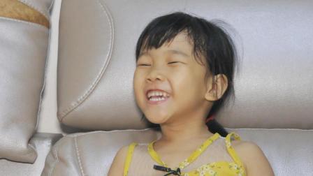 爆笑萌娃: 女儿让我去认识一个乞丐, 说出原因后吓我一跳!