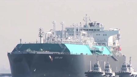 """中国8万吨""""海上超级冷冻车"""", 被称为漂浮的核"""