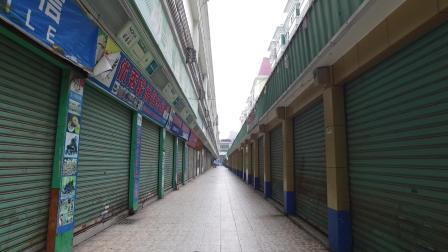 实拍: 东莞又一村步行街整条商铺都关门了, 网购冲击不转型就倒闭