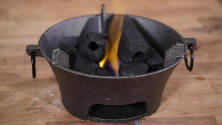 买这种炭来吃火锅千万当心