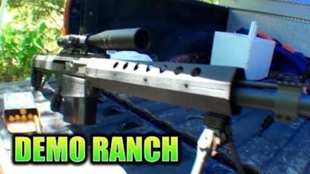 防弹玻璃能经受这些枪械打击吗? 国外牛人亲测
