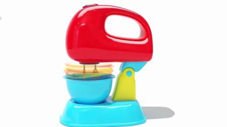 神奇搅拌机制作彩蛋玩具 动画片