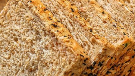 无糖代餐全麦面包原来是这样做出来的啊