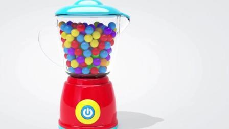 神奇搅拌机玩具认识海洋生物 动画片