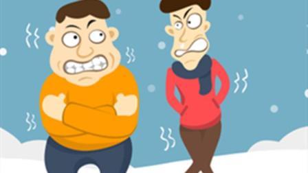 胖子因为脂肪厚, 所以冬天不怕冷? 看看瘦子的反
