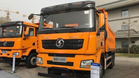 搭载潍柴国六12升460马力发动机 , 陕汽X3000 6X4自卸车全面升级