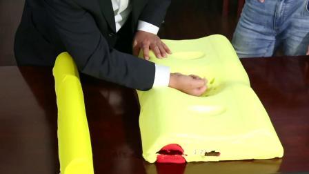 大叔发明颈椎理疗枕, 根据头部需要自动调节, 卖枕头一年赚200万