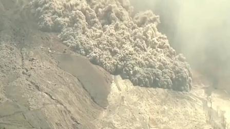 火山爆发的瞬间, 场面太震撼如同世界末日! 视频记录全过程