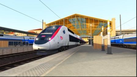 [模拟火车2019]法蘭西最も速い伝説 马赛—里昂 第一视角前方展望