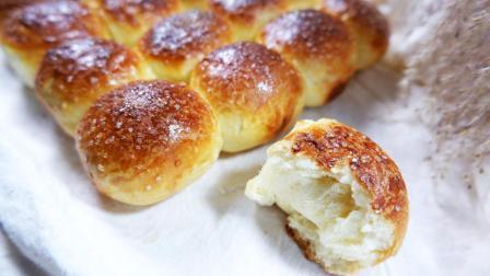 黄油小面包, 烘焙新手入门, 这样做蓬松绵软, 好吃停不下来
