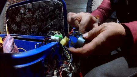三轮电动车修理换控制器