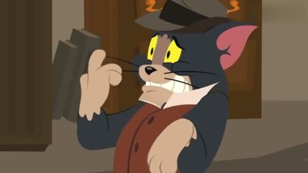 猫和老鼠: 小绵羊渴了, 来汤姆家找水喝