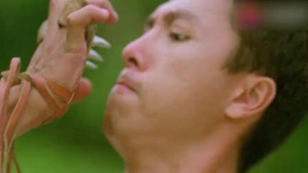鹰爪功太厉害, 于是男子先掰断他的手指, 再将他暴揍一顿