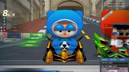 跑跑卡丁车: S2职业玩家比赛, 他只要杀出去其他玩家都未完成