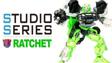 KL变形金刚玩具分享381 电影工作室 SS系列16 飞轮 RATCHET