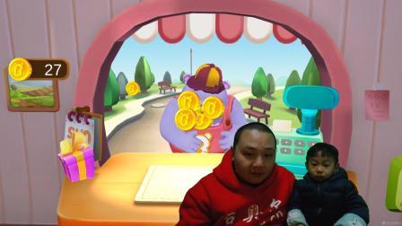 宝宝巴士小游戏糖果工厂 奇奇制作糖果全过程 晨晨的玩具评测手机游戏视频