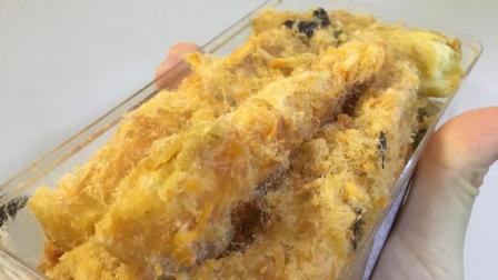 【团子的吃喝记录】网购美食少女食: 肉松蛋糕组合(更多图片评论在微博: 到处吃喝的团子)