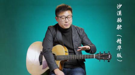 《沙漠骆驼》C调精华版吉他弹唱教学教程 展展与罗罗 高音教