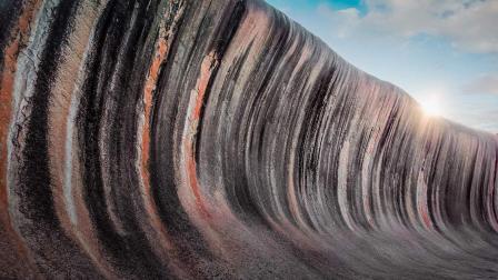 世界上最奇特的海浪, 形成于25亿年前, 被称为世