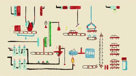 创意幽默动画, 汽车的一生用动画描述得淋漓尽致!