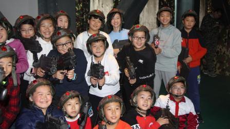 中国小海军: 2018团结路小学军事拓展活动