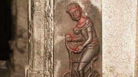 自行车发明于印度? 一座2000年前的印度神庙, 居然