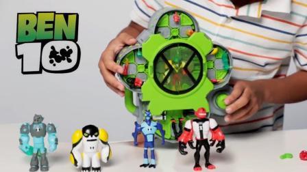 BEN10玩具拆箱: 超有趣的外星英雄创造屋, 创建自己的外星英雄!