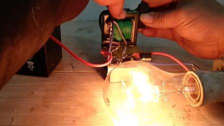 自制单线永磁升压器