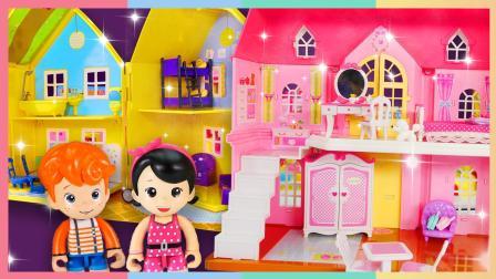 帮助小朋友们打扫房间的凯利姐姐(玩具版) | 凯利和玩具朋友们 CarrieAndToys